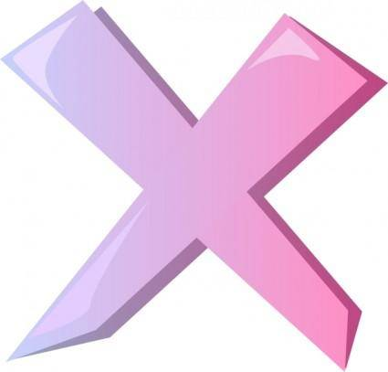 Cross Wrong X Icon clip art
