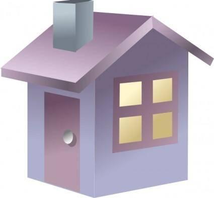 free vector Home House clip art