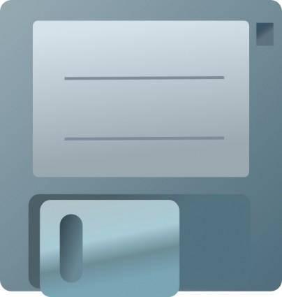 Diskette Icon clip art
