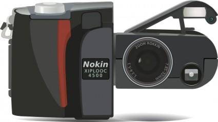 free vector Nikon Coolpix 4500 Digital Camera clip art
