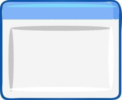 Window Icon Gui clip art