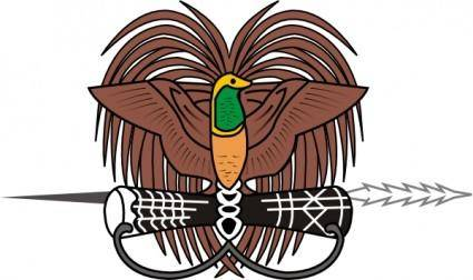 Coat Of Arms Of Papua New Guinea clip art