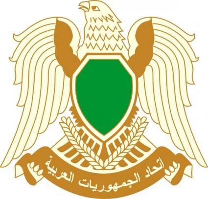 Coat Of Arms Of Libya clip art