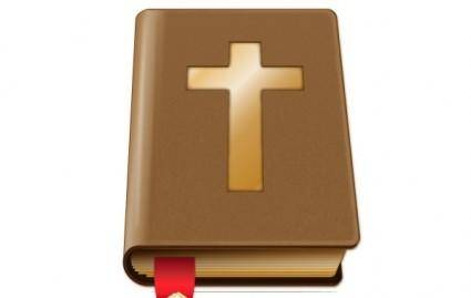 free vector Brown Bible