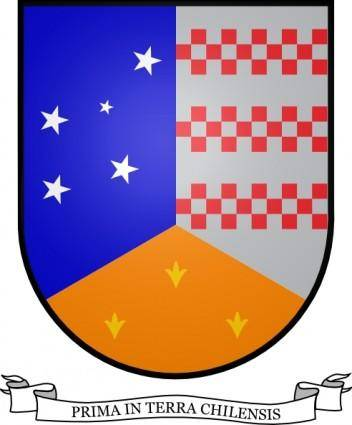 Stars Blue Coat Of Arms Of Magallanes Chile clip art