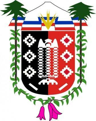Coat Of Arms Of La Araucania Chile clip art