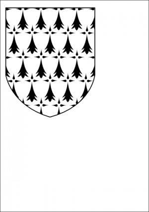 Bretagne Coat Of Arms clip art