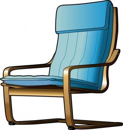 free vector Armchair clip art