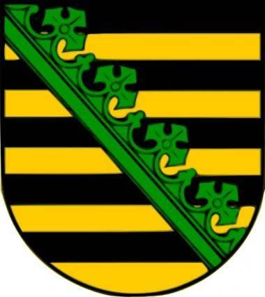 Saxony Coat Of Arms clip art