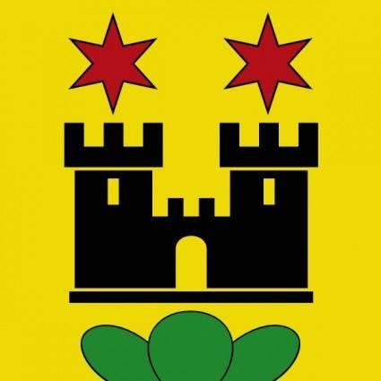 free vector Castle Stars Wipp Meilen Coat Of Arms clip art