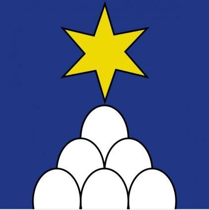Star Eggs Wipp Sternenberg Coat Of Arms clip art