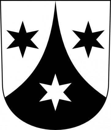 Wipp Weisslingen Coat Of Arms clip art