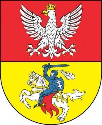 free vector Bialystok Coat Of Arms clip art