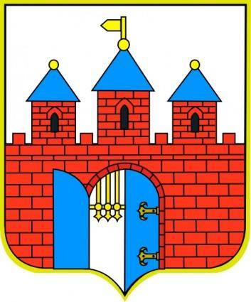 free vector Bydgoszcz Coat Of Arms clip art
