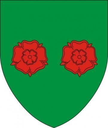 free vector Flowers Bielsko Biala Coat Of Arms clip art