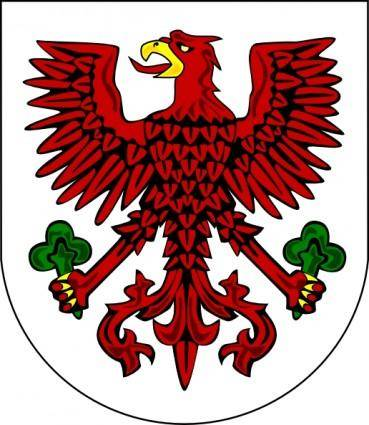 free vector Gorzow Wilekopolski Coat Of Arms clip art