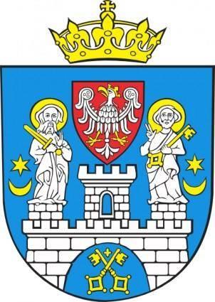 free vector Poznan Coat Of Arms clip art