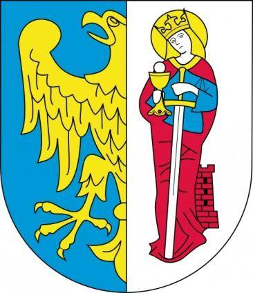 free vector Ruda Slaska Coat Of Arms clip art
