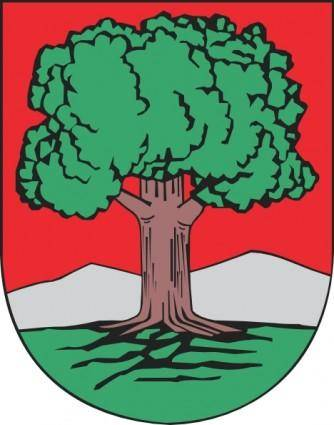 Oak Tree Walbrzych Coat Of Arms clip art