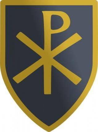 Christian Shield clip art