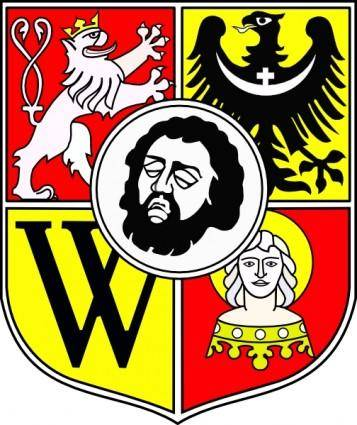 free vector Wroclaw Coat Of Arms clip art