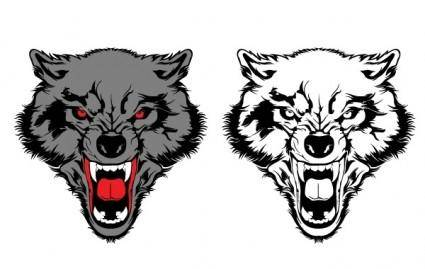 free vector Wolf Vector