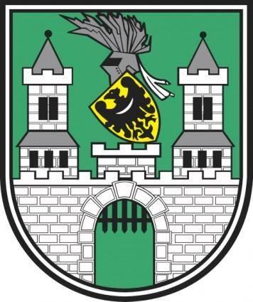 free vector Zielona Gora Coat Of Arms clip art