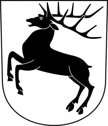 Wipp Hirzel Coat Of Arms clip art