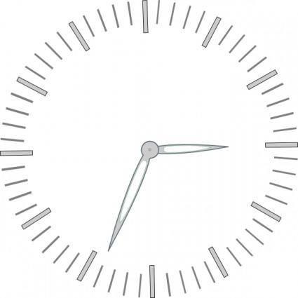 free vector Clock Graduiation Minutes clip art