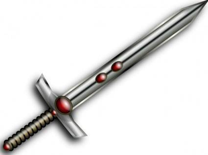 Jeweled Sword clip art