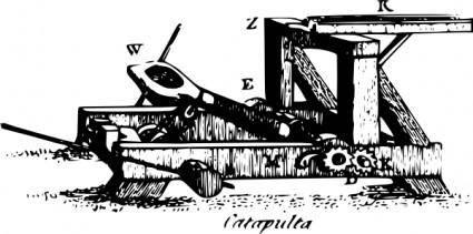 Catapult clip art