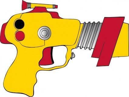 free vector Laser Ray Gun clip art