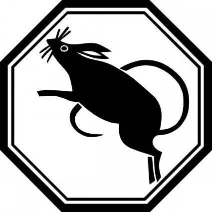 Rat Rodent clip art
