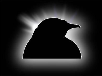 Wallpaper Penguin clip art