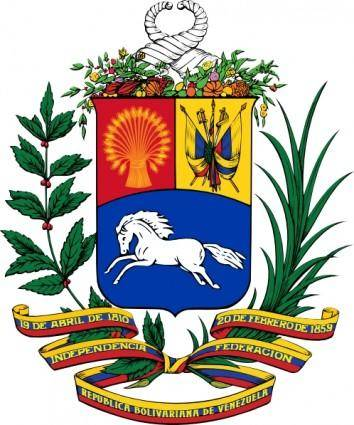 Coat Of Arms Of Venezuela clip art
