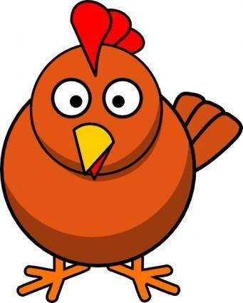 Chicken Cartoon clip art