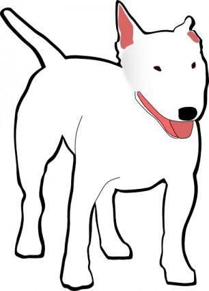 Bullterrier clip art 118245