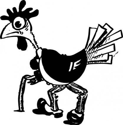 free vector Old Bird clip art