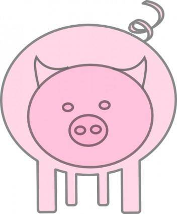 The Pig clip art