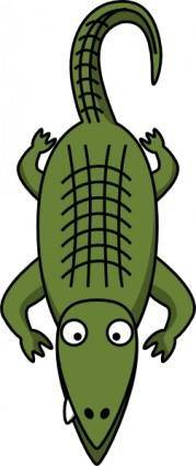 Alligator  clip art
