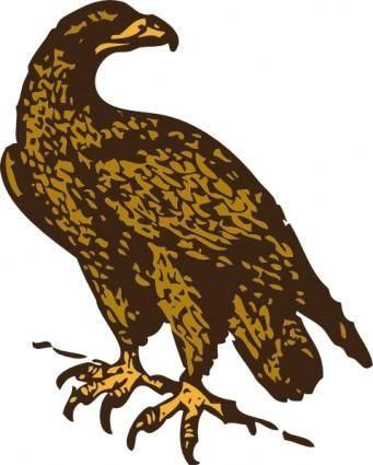 free vector Golden Eagle clip art