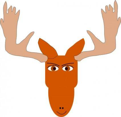 free vector Mad Moose clip art