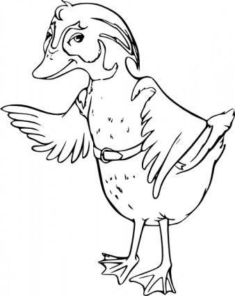 Wood Duck clip art