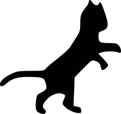Dancing Cat clip art
