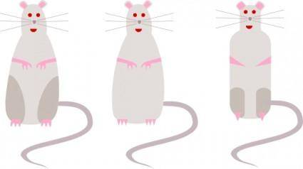 free vector Rat clip art