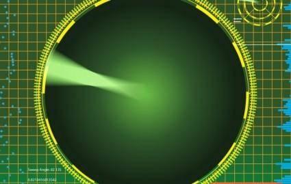 free vector NixVex Radar Screen free Vector