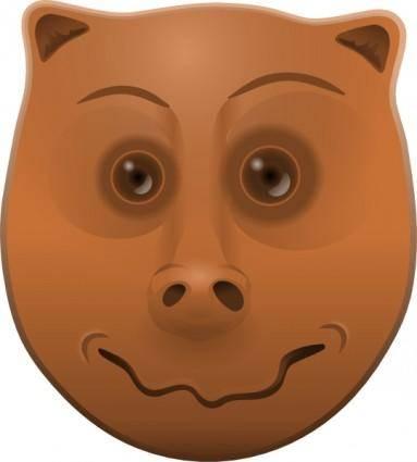 free vector Animal Head clip art