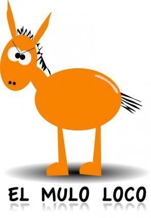 Donkey clip art