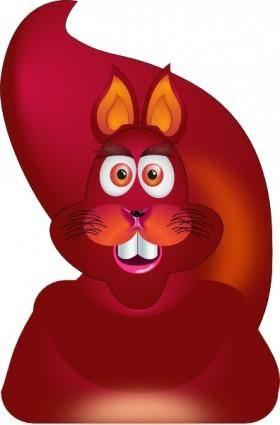 free vector Squirrel clip art