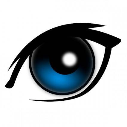 Cartoon Eye clip art